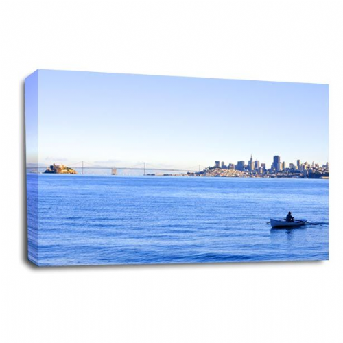 Seascape Wall Art Picture Golden Gate Bridge San Francisco Print